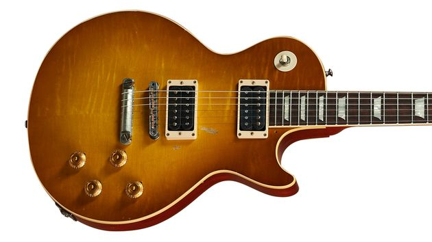 The '59 Les Paul features a pair of Custom Bucker #3s