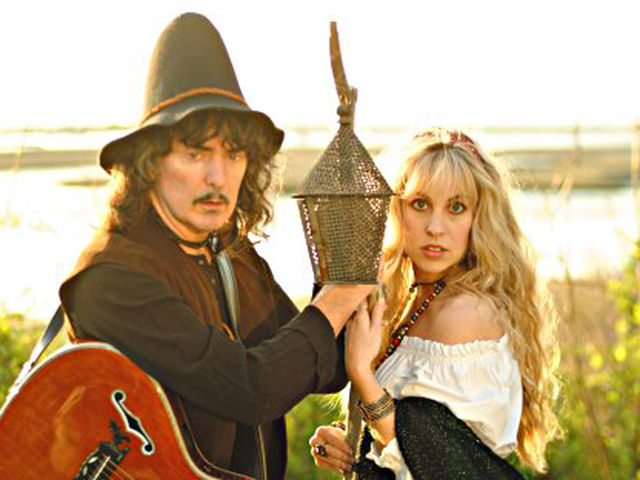 Blackmore and his fair maiden