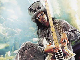 Bootsy Collins takes off the gloves for Prizefighter theme