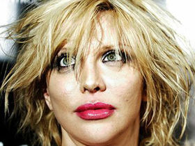 Courtney Love tosses her new album