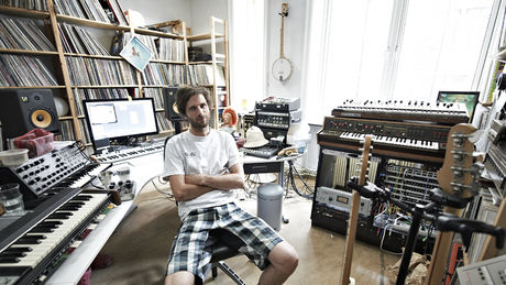 Lindstrøm sat in his Oslo studio