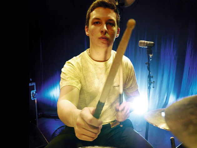 Matt Helders: Definitely a clever monkey