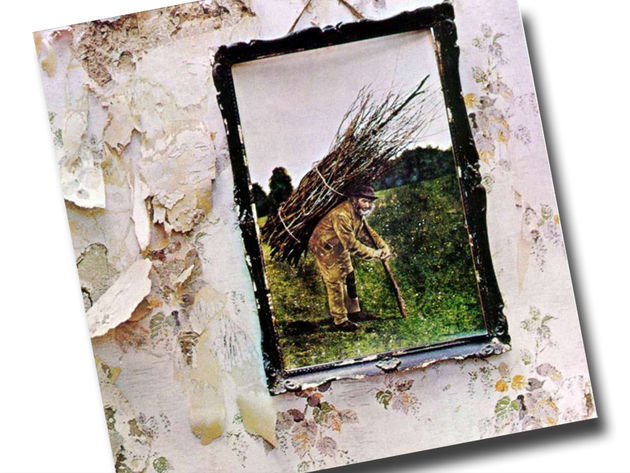 Led Zeppelin IV: Four Cymbals (arf!)