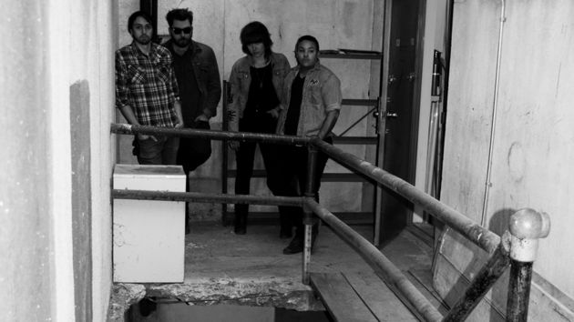 Derelict buildings and lo-fi punk: a match made in moody band pic heaven