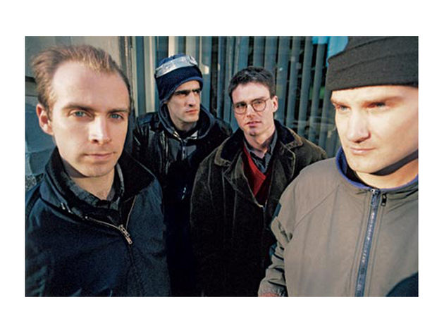 Fugazi at the Mercedes dealership