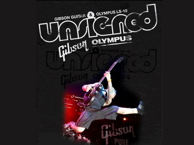 Gibson can offer one band the chance to play Download 2008