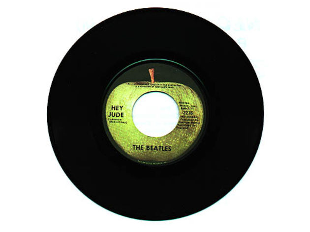 The Beatles' Hey Jude is one of the UK's longest Number 1s at 7 minutes 11 seconds