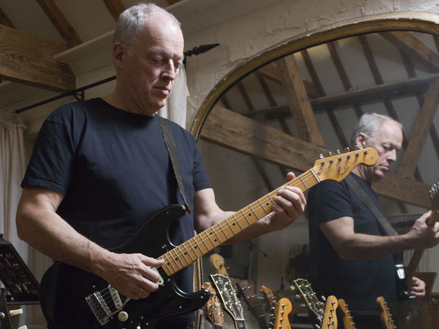 Gilmour with the original