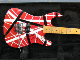 Eddie Van Halen's stage-played 5150 guitar for auction