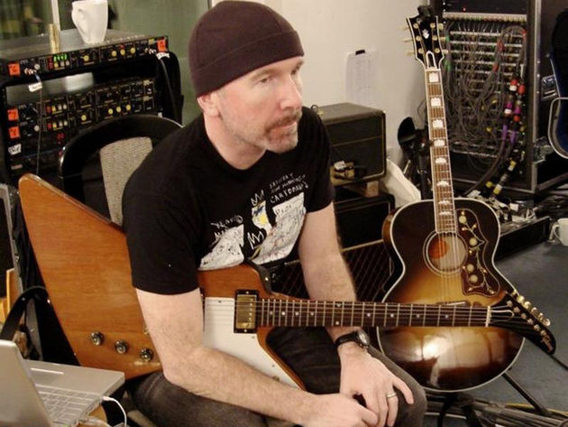The Edge with his 1976 Explorer