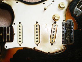 Torched Hendrix Strat expected to fetch $1m