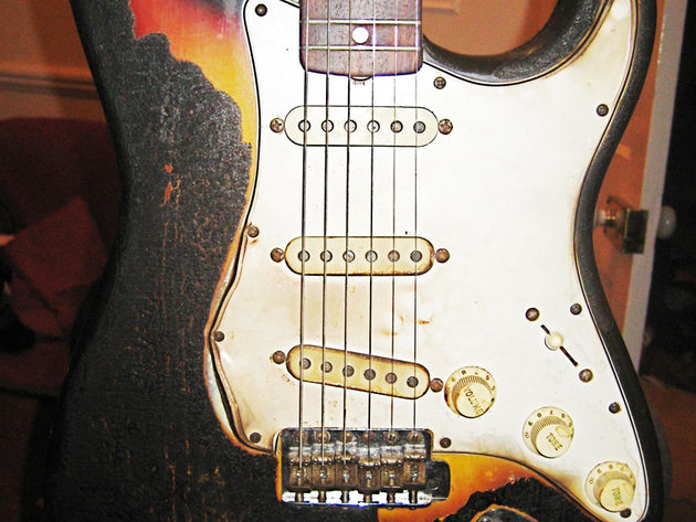 Now that's what you call a Relic'd Strat