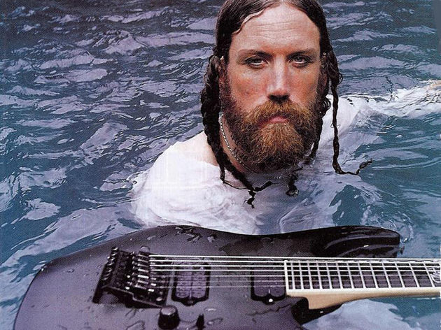 Brian Welch: a novel approach to taking a bath