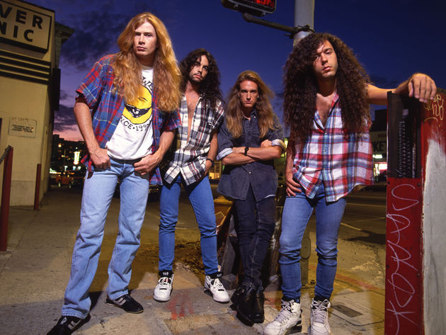 Marty Friedman (far right) played guitar in Megadeth for nearly ten years