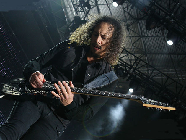 Kirk Hammett: doesn't like things too easy