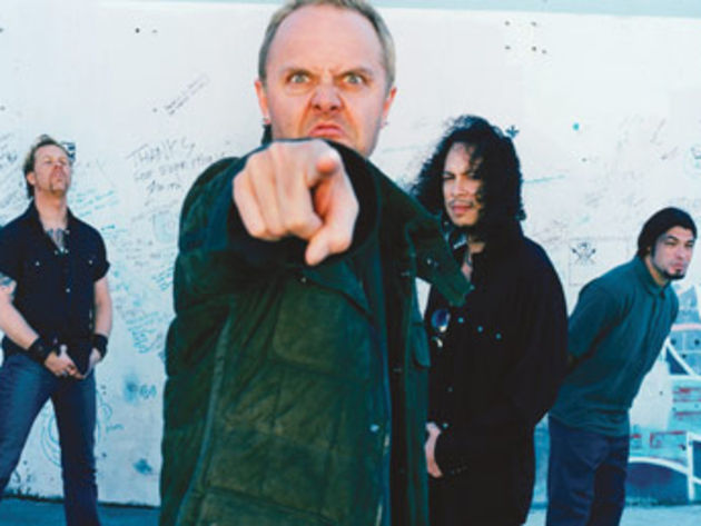 Lars points the finger at everyone who owns his ass on Guitar Hero