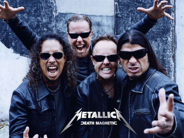 Metallica: always angry with photographers