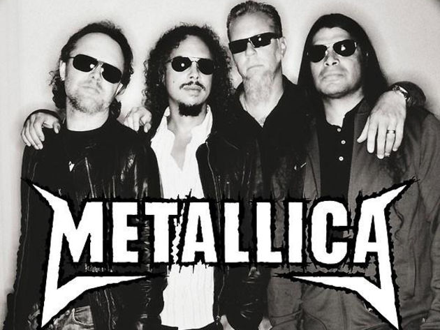 Metallica: doing a pretty decent job of keeping the Death Magnetic PR machine's wheels turning