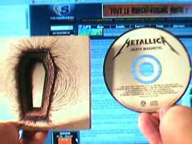 Metallica's Death Magnetic leaked in full online