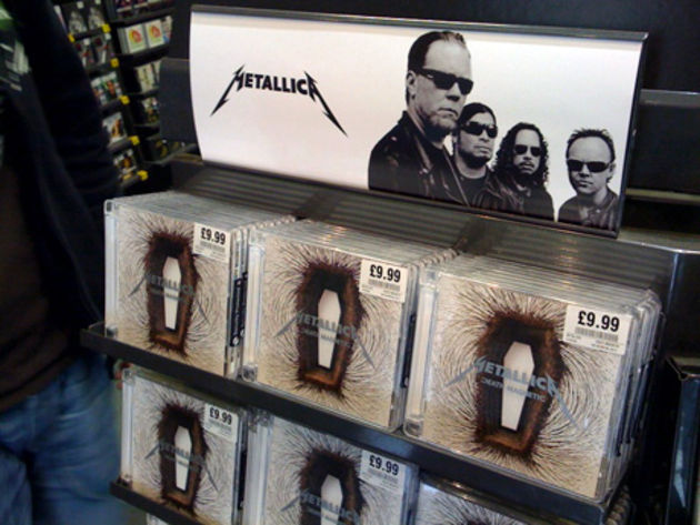 Death Magnetic: available everywhere