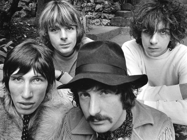 Rick Wright (upper-left) was a founding member of Pink Floyd and his keyboard playing was an integral part of the band's sound