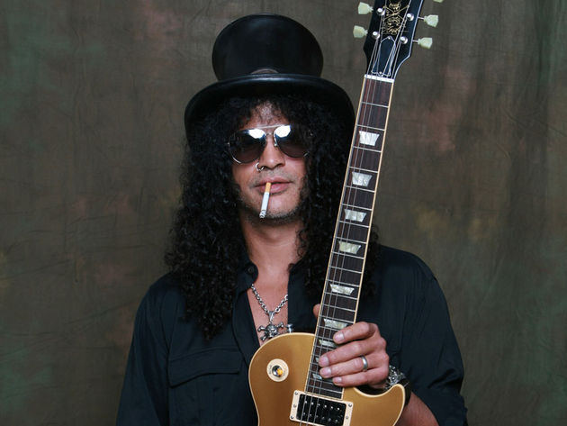 When Slash met Les