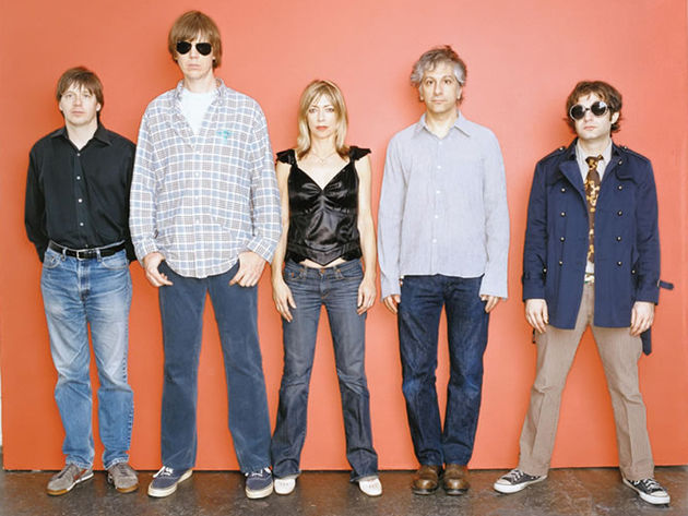 Sonic Youth in their glamourous major label days