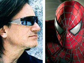 U2's Bono and The Edge writing music for Spider-Man: The Musical