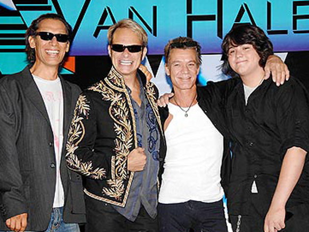Van Halen give McCain fair warning