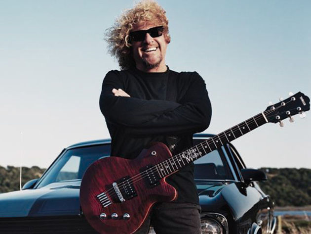 Sammy Hagar: One toe of the Chickenfoot