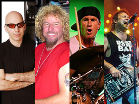 "Sammy Hagar says new supergroup could ""rival Zep"""