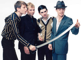 Franz Ferdinand recorded 'Tonight' with human bones