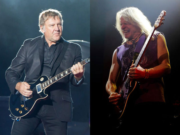 Alex Lifeson, Rush