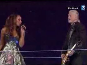 Jimmy Page and Leona Lewis close Beijing Olympics