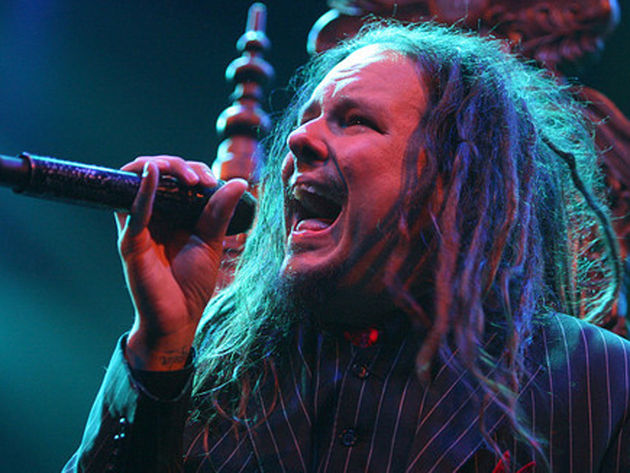 Korn's frontman is relaxed on new album