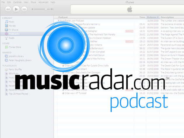 Subscribe to the MusicRadar podcast on iTunes and each new episode will download automatically