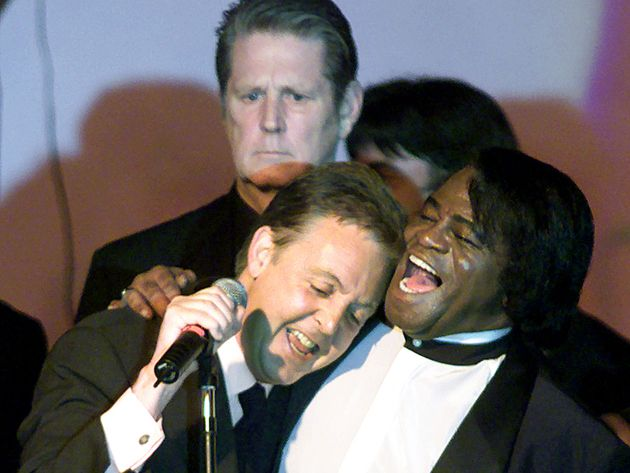 With James Brown and Brian Wilson