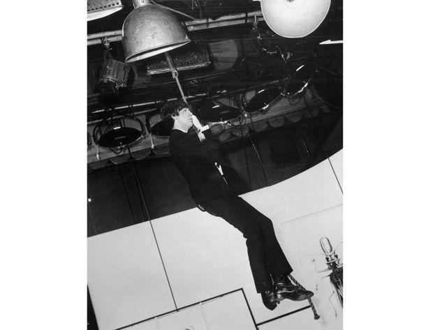On set, 1964