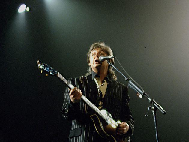 On tour, 1993