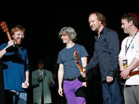 Phish reunite at Jammy Awards
