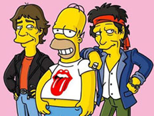 Even Homer has a rock 'n' roll fantasy