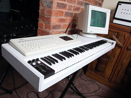 Richard's Fairlight still loaded with hans Zimmer's presets