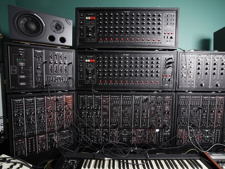 The Roland System 700 is the centrepiece of Llama Farm Studios