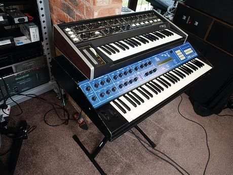 The Moog Rogue and PPG Wave