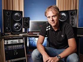 In pictures: Armin van Buuren's studio
