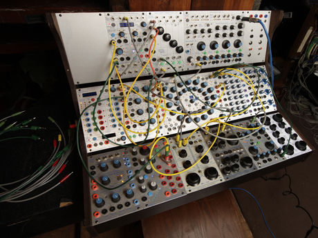 A modern modular system made by synth legend Don Buchla.