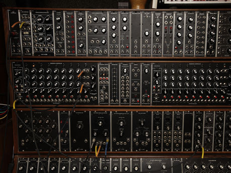 A Moog 3C from 1968 and a few current Moog-format modules