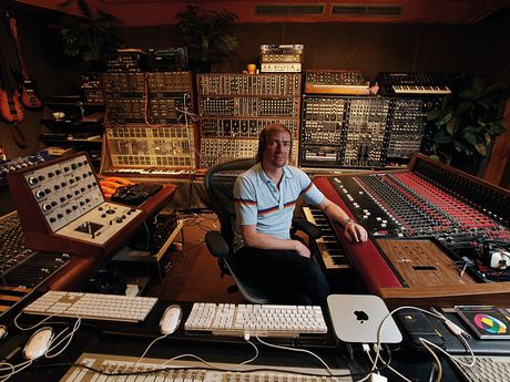Benge in his incredible Memetune Studios in London.