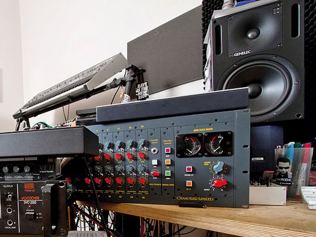 Chandler Limited TG Series Mini Rack Mixer