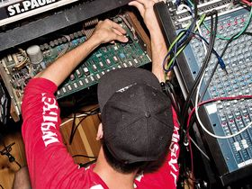 In pictures: Boys Noize and his hardware packed studio